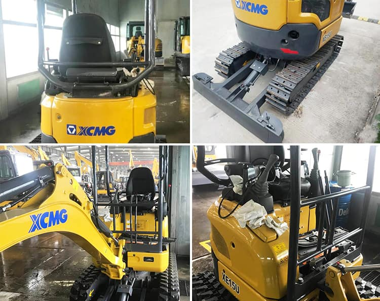 XCMG Official XE15E 2 Ton Electric Mini Bagger For Sale