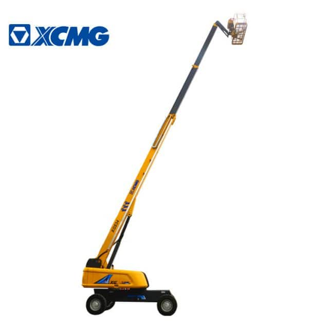 XCMG XGS34 34m mobile telescopic towable boom lift hydraulic price