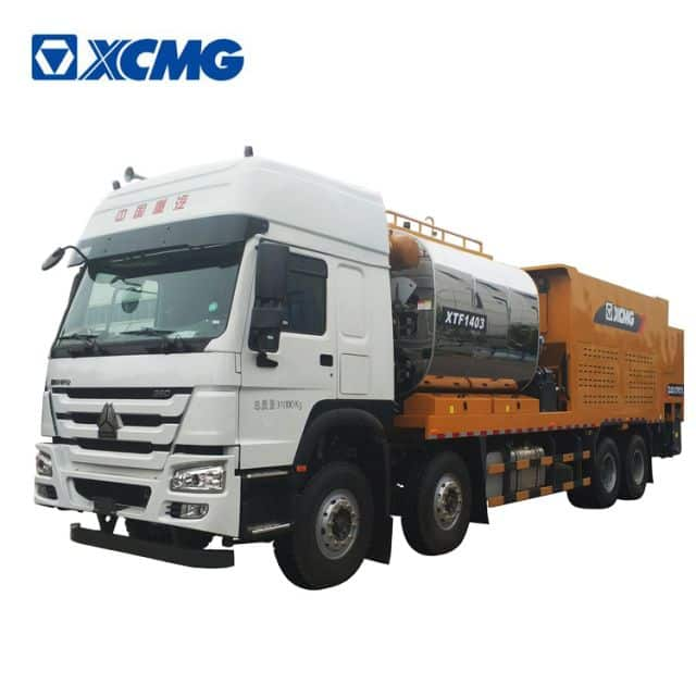 XCMG manufacturer asphalt chip synchronous seal road machine XTF1403 for sale