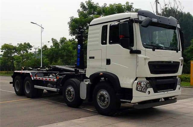 XCMG official new detachable container mini garbage truck with DONGFENG chassis XZJ5120ZXXD5 price