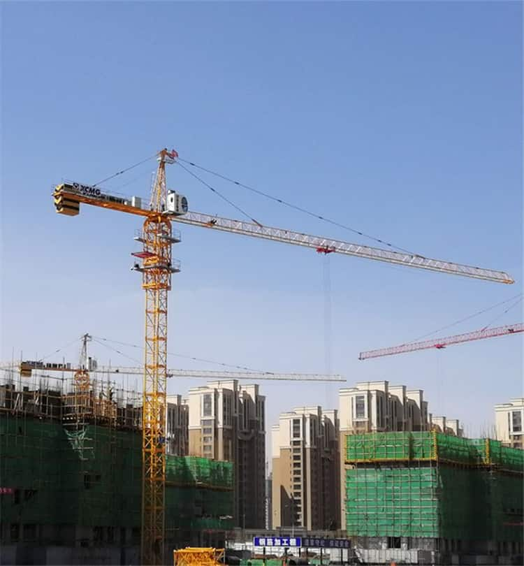 XCMG Official 8 Ton Crane Tower XGT100AL(6012-8) Self Erecting Tower Crane for Sale