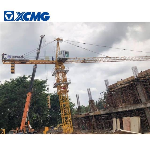 XCMG Official Construction Tower Crane 6 Ton Small Crane Tower QTZ63(5013L-6)
