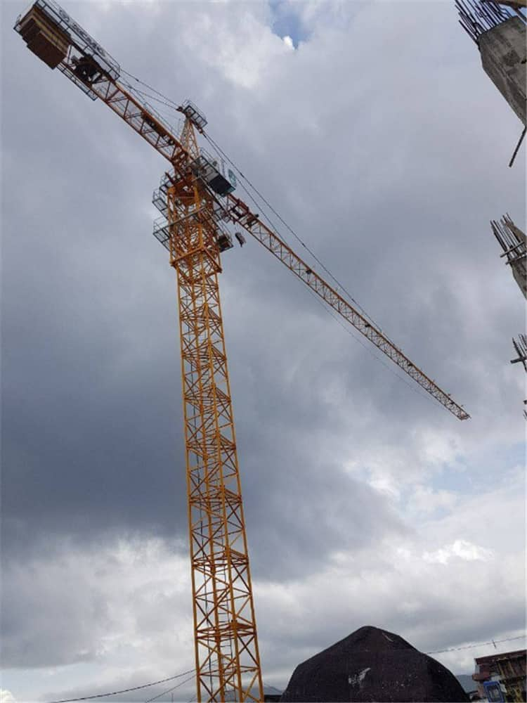 XCMG Official Crane Tower XGT160DII (6026L-12) 12 Ton Self Erecting Tower Crane for Sale