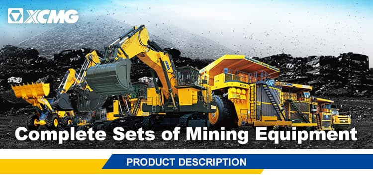 XCMG Official Electric Drive Mining Dump Truck XDE200 Dump Trucks 200ton Dump Trucks For Sale