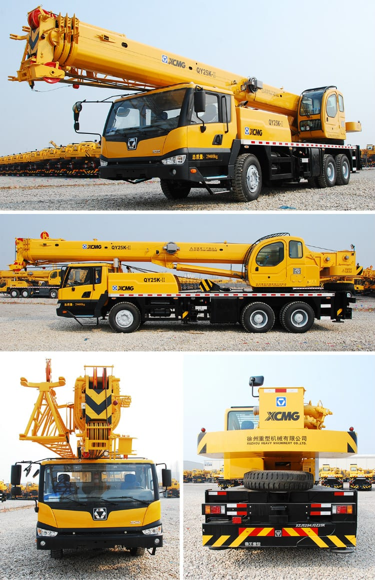 XCMG Manufacturer QY25K-II 25 Ton Mobile Crane for Sale