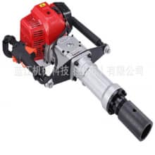 Handy Piling Machiner Lanjiang Mechanics Small vibration impact pile driver