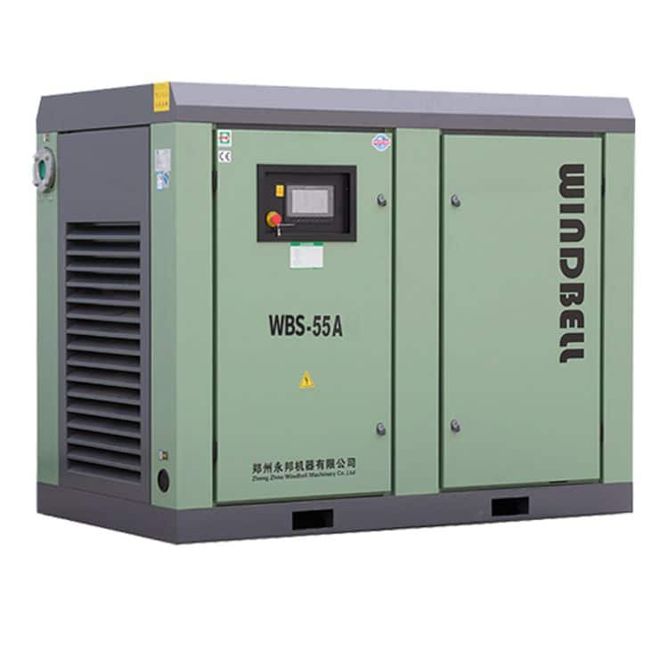 Windbell WBS-110A two stage compressed screw air compressor for sale