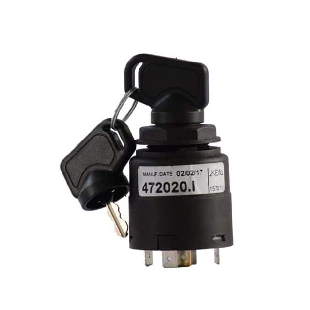 China Manufacturer Motor Grader Ignition Switch