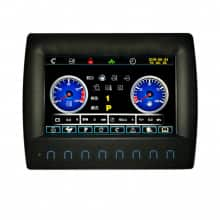 Agricultural Machinery Modular Instrument Panel Cluster
