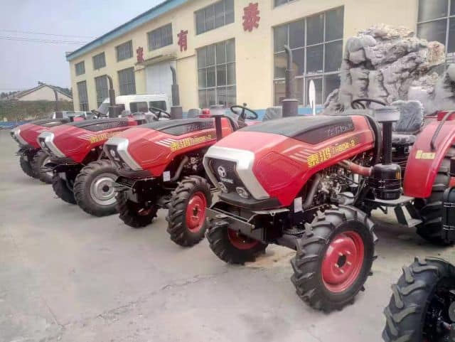 China Factory Supply 45HP 4WD Mini Garden Orchard Agricultural Farm Tractor