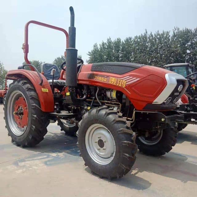 China Factory Supply 55HP 4WD Mini Small Agriculture Garden Orchard Farm Tractor