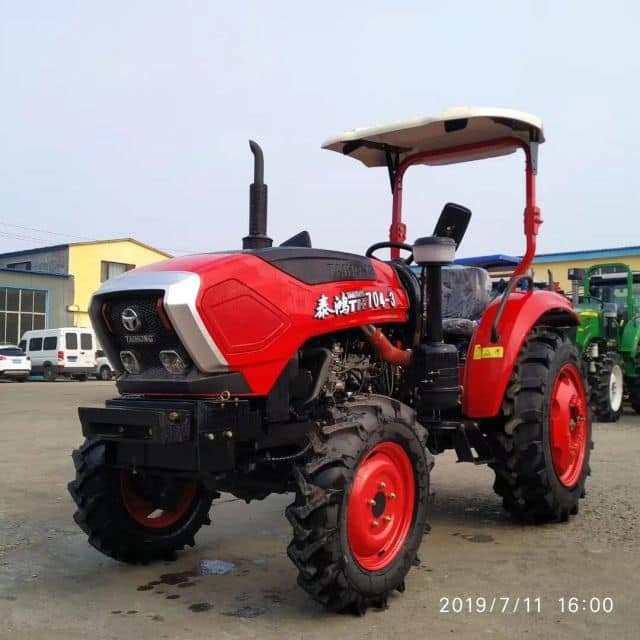 China Factory Supply 60HP 4WD Mini Garden Orchard Agricultural farm Tractor