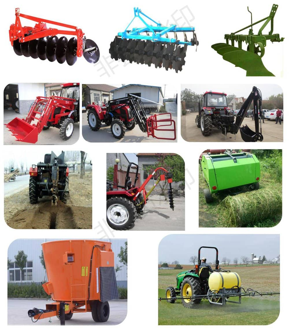 China Taihong 180HP 4WD Walking/Diesel/Garden/Agricultural Machinery Farm Tracto