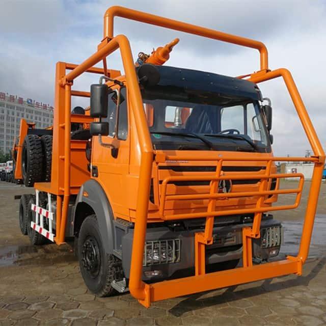 BEIBEN logging truck  2642 420HP with high safety price