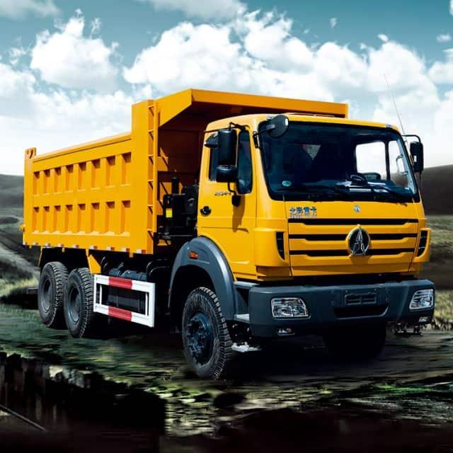 BEIBEN diesel dump truck 2638KZ 380HP with Benz technology price