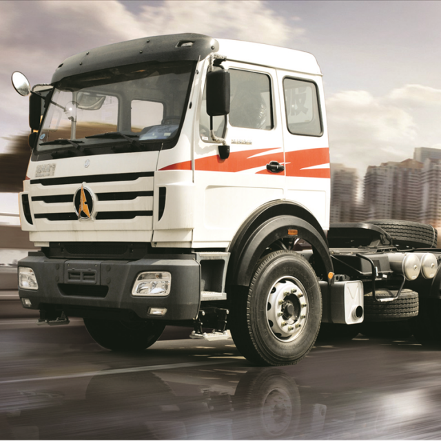 China BEIBEN 2638SZ LHD tractor truck 6×4 with 380HP for sale