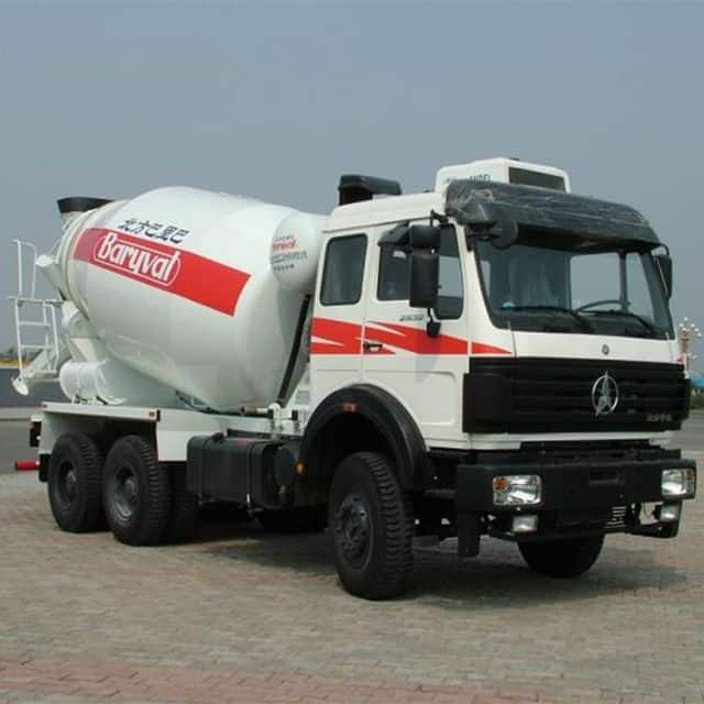 BEIBEN mixing truck 6×4 380HP with high safety for sale