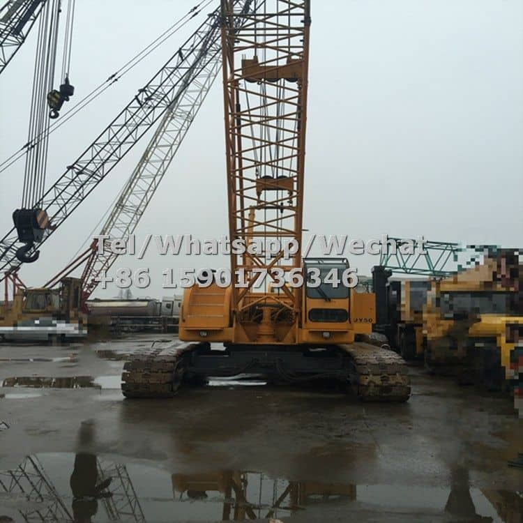Used XCMG 50 ton Hydraulic Crawler Crane QUY50 Price For