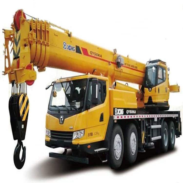 2015 Year Used 50 ton XCMG QY50K-II Mobile Crane_Used 50 ton