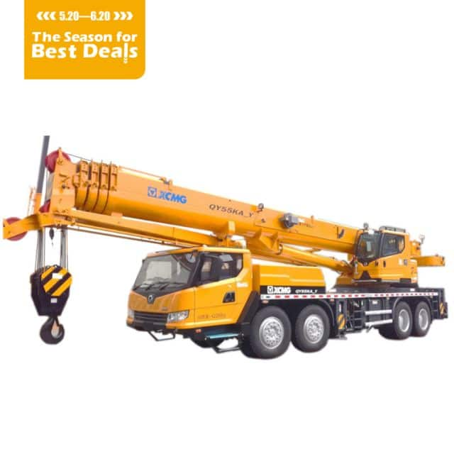 XCMG Official QY55KA_Y Truck crane  price for  Indonesia
