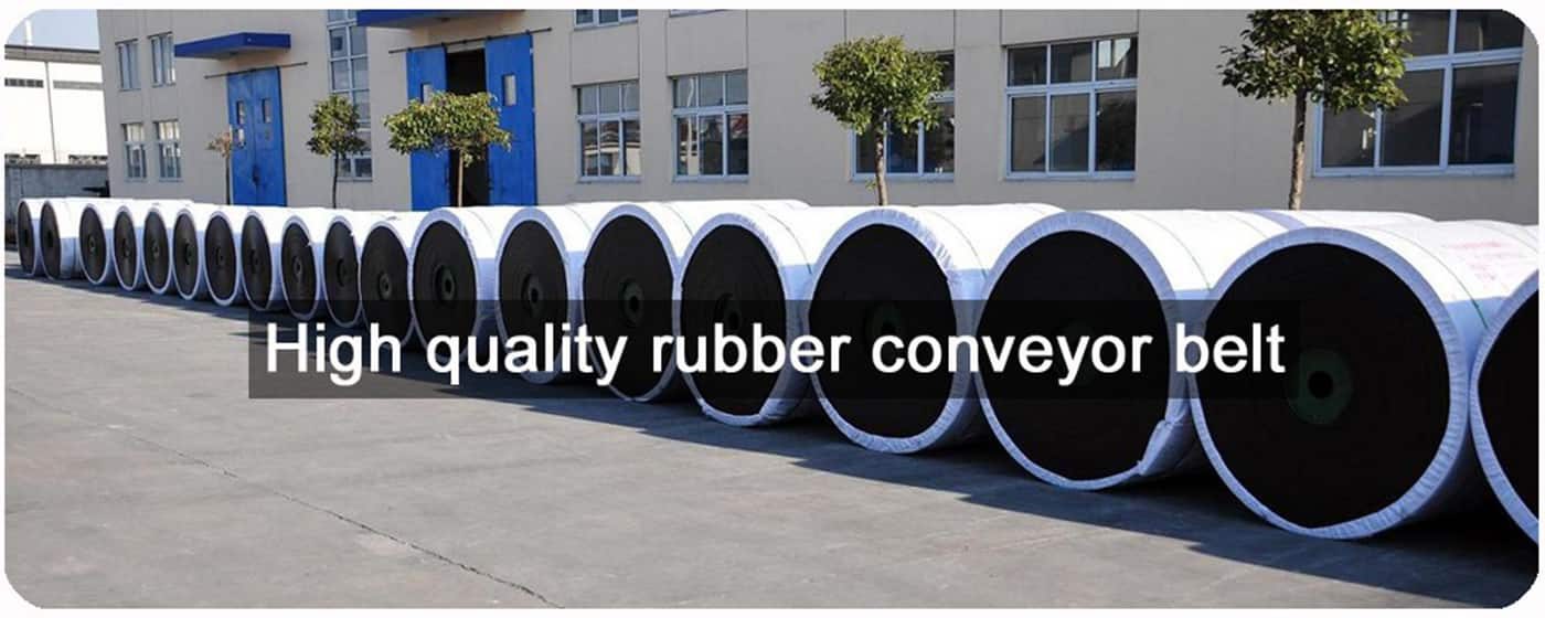 textile carcaChina Polyester Fabric bare back conveyor belt Rubber Conveyer Belt
