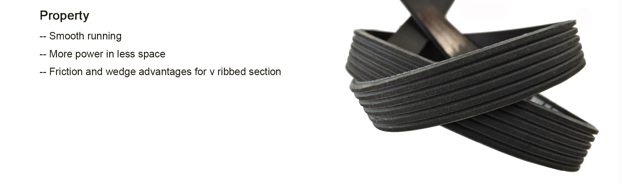 EPDM 8PK 4PK multi poly rib PK v belt 6PK v-ribbed automotive ribbed v belt
