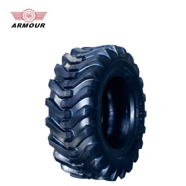 China tire Armour brand 12-16.5 14PR 307mm width load 3 ton for industry sale