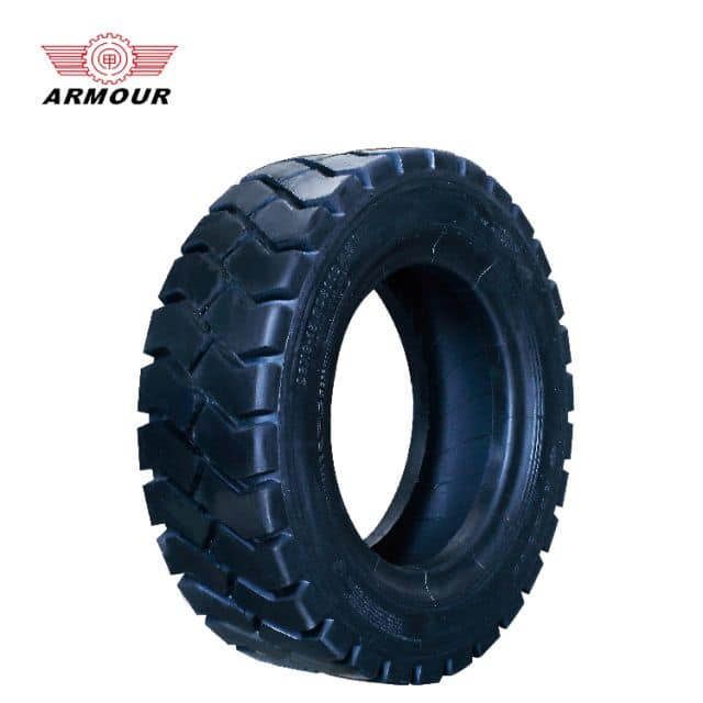 Armour forklift tire for industry with good wear resistance 220 width price
