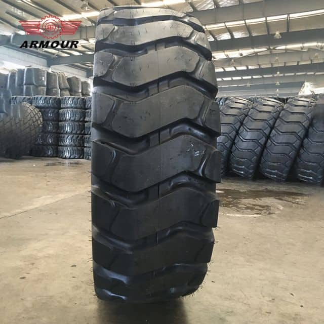 Armour radial tire L-3 25.5mm tread depth engineering for loader price
