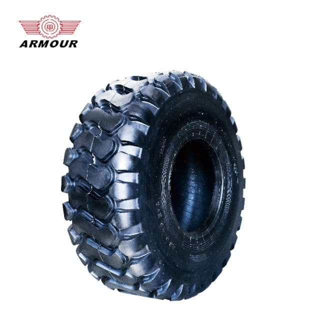 Armour tire 23.5-25 20 PR 44mm depth construction machinery tires for trucks sale
