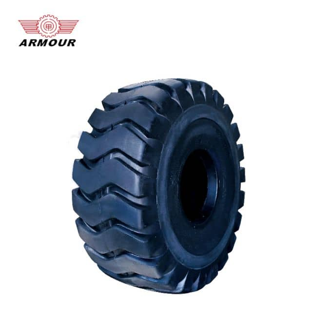 Engineering tires Armour OTR tire 16PLY 30mm tread depth for loader sale