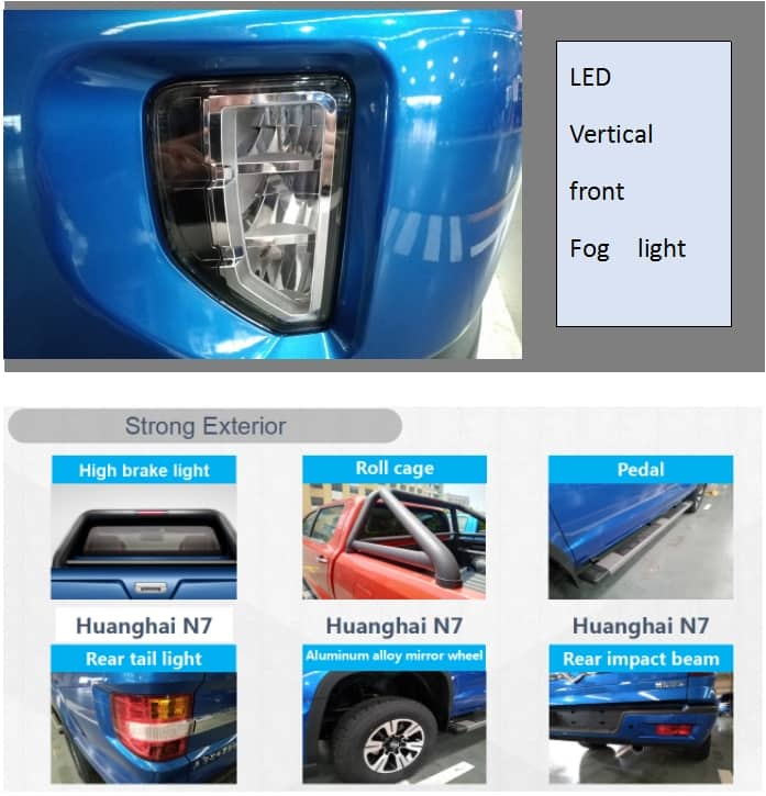 Huanghai Pick Up N7-S63 Diesel AT 2WD Luxury