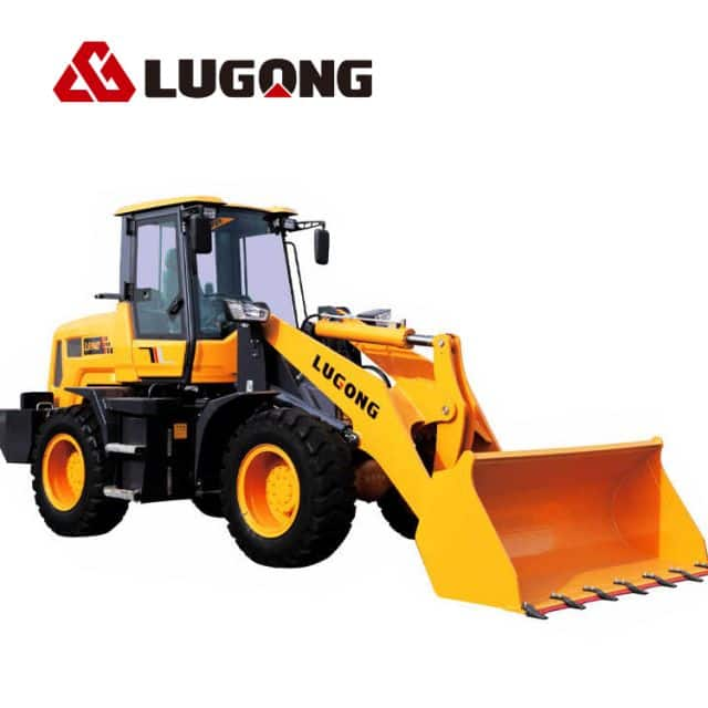 LUGONG LG940  Compact Wheel Loader Front End Loaders for sale