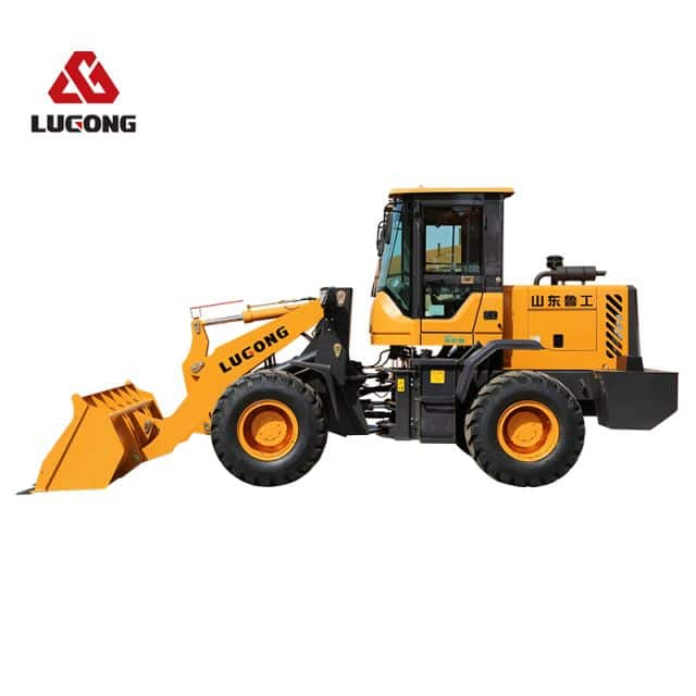 LUGONG L938 2.2ton small wheel loader  high quality loaders for sale