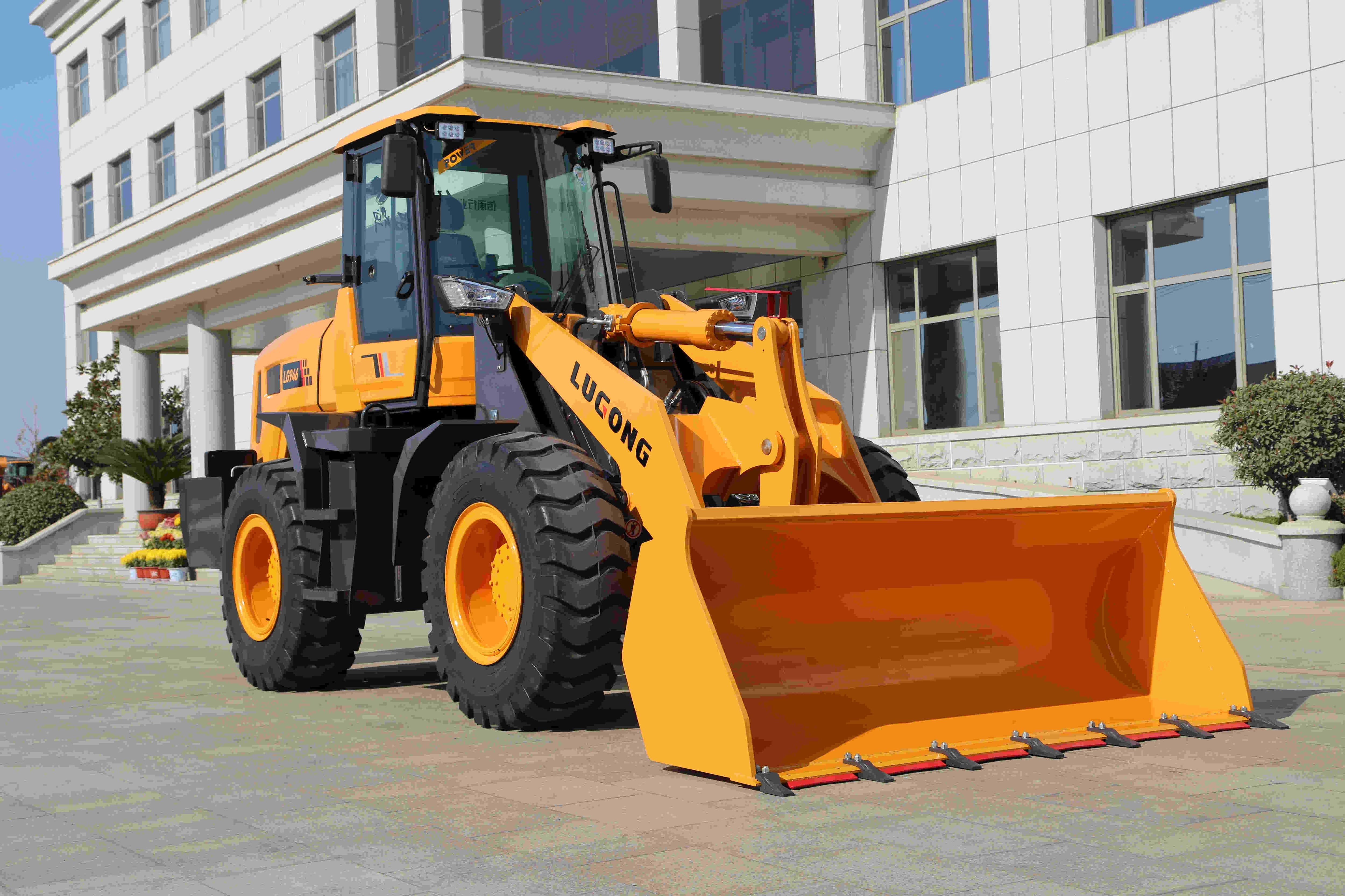 LUGONG LG946 Best-selling Compact Wheel Loader Of High Quality For Sale For Multiple Use