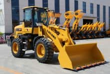 LUGONG LG939 Compact China Loaders 1m³ Front End loaders Price