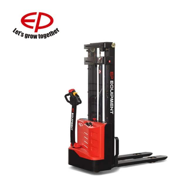 EP 1 ton electric stacker use in small warehouses light application price