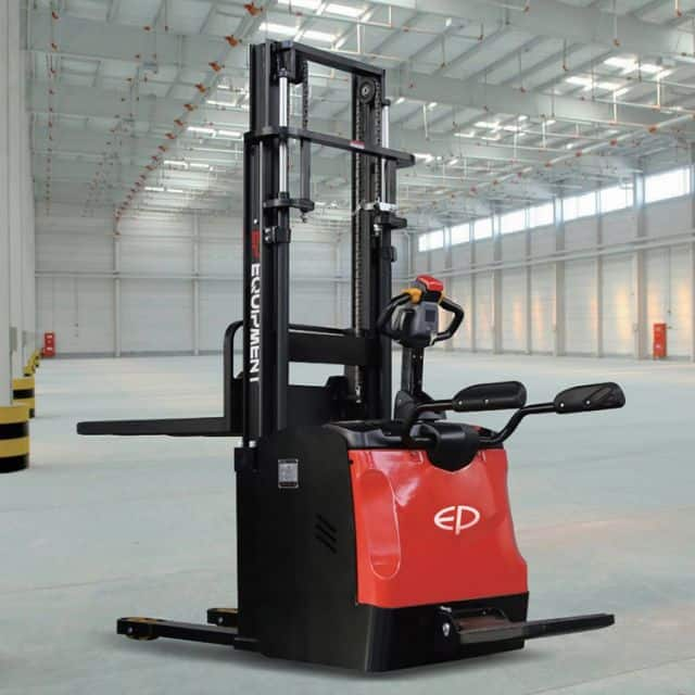 EP electric stacker with high strength structure 1.6 ton 3465mm mast height price