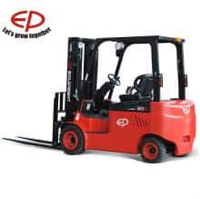Forklift electric 1.5 ton China EP 3m lift height 4028mm mast price