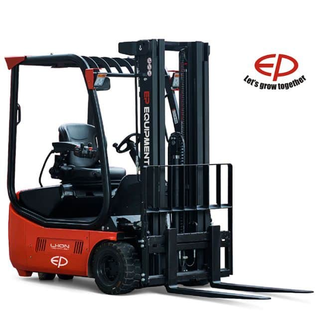 EP 2 ton electric forklift CPD20L2 counterbalance for mid to large logistics sale