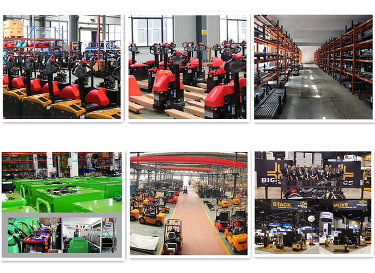 EP EPL185 electric pallet truck forklift 1.8 ton with 0.9kW DC motor for warehouse sale