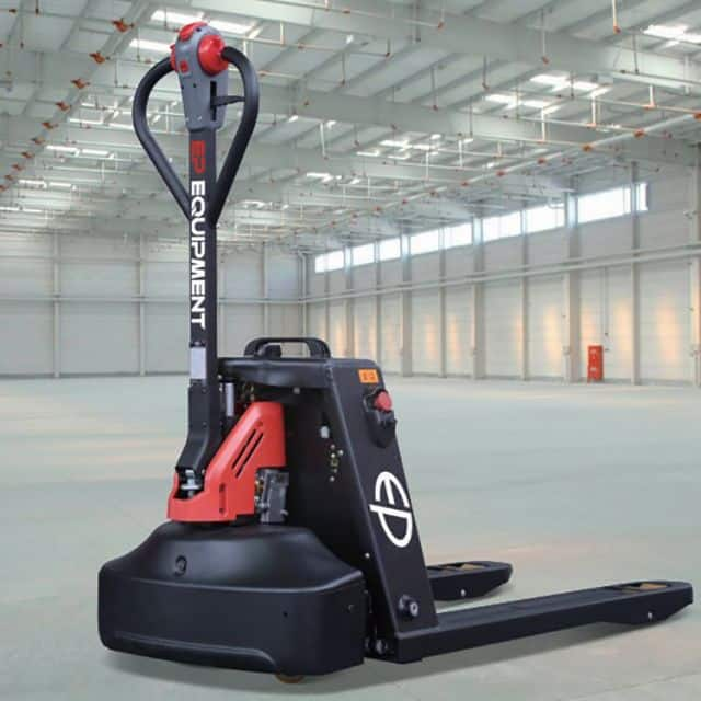 EP electric pallet truck EPL163 1.6 ton battery 115mm lift height price
