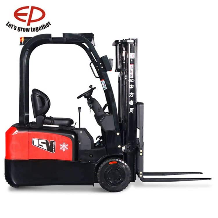 China EP warehouse forklift with three wheel 2.0 ton 4m lift height for sale