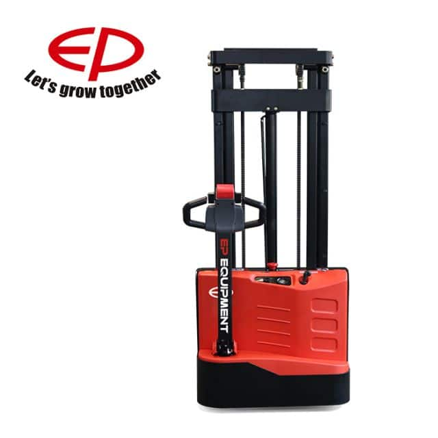 EP stacker with lithium battery 1.2 ton small dimension 2056mm mast height