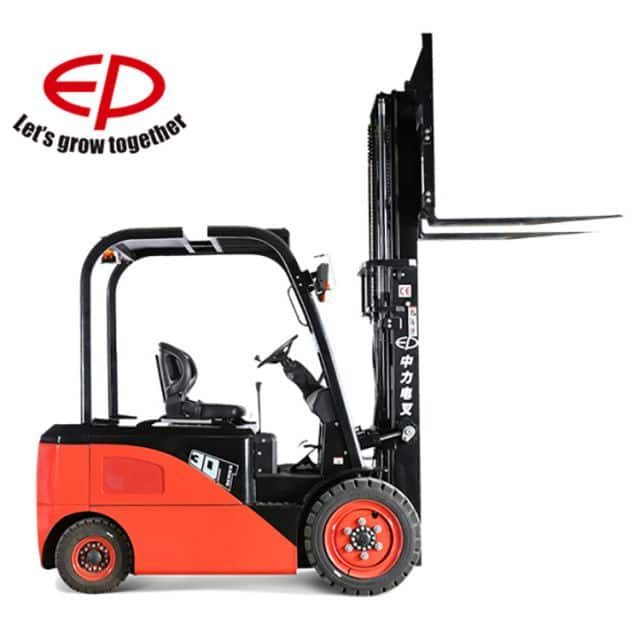 EP new 3 ton electric forklift with four wheel lead-acid battery price