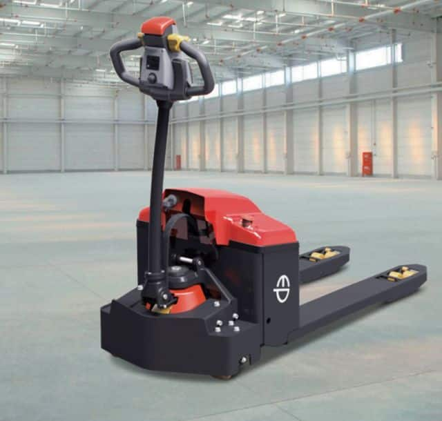 EP small electric pallet truck 48V power 2 ton for warehouse sale