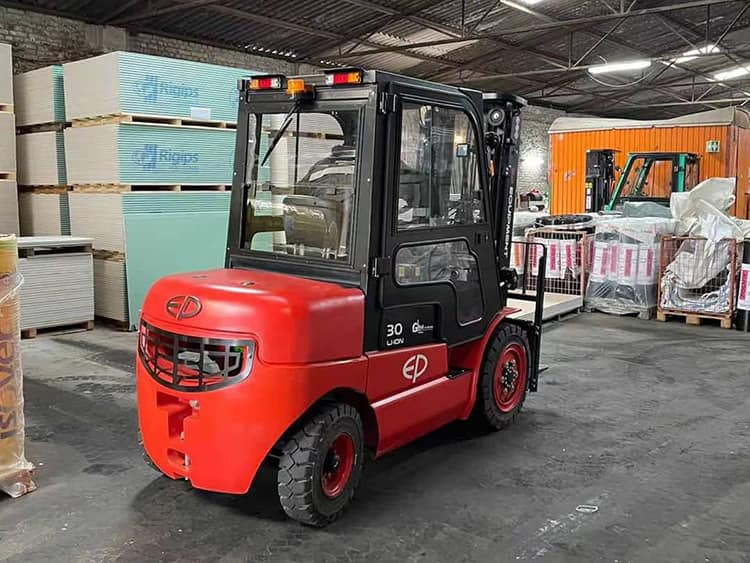 EP forklift battery li-ion EFL302 3 ton 6m mast height with CE price