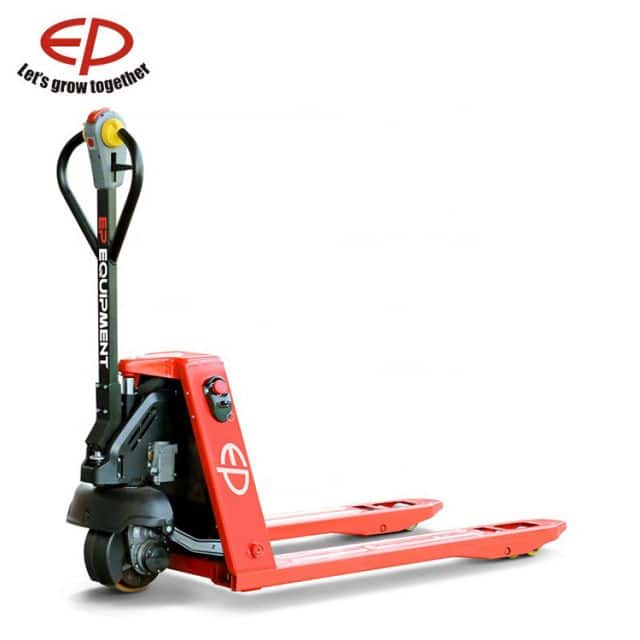 China EP electric pallet truck 1.5 ton with li-ion battery for sale