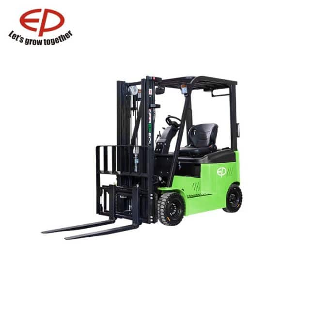 Electric forklift truck EP 2 ton 4 wheel CPD20L1 6m lift height for warehouse sale