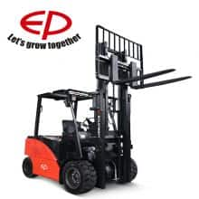 EP counterbalance forklift with four wheel 5 ton capacity price